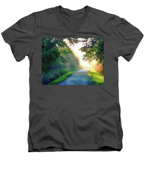 Sunny Trail Men's V-Neck T-Shirt