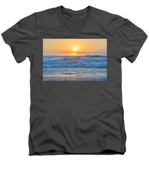 Sunrise 18th Of June Men's V-Neck T-Shirt