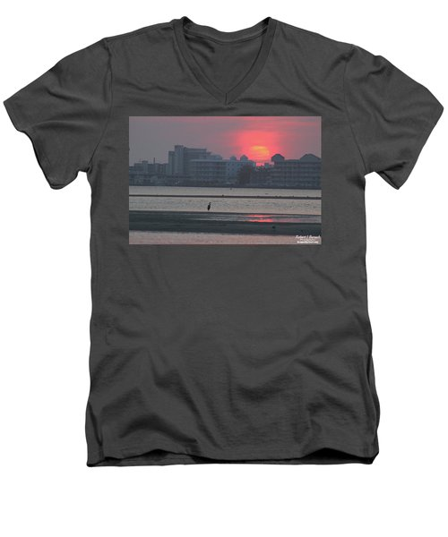 Sunrise And Skyline Men's V-Neck T-Shirt