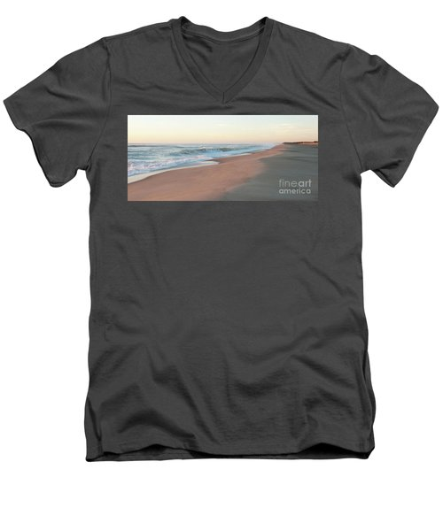 Sunrise At Nauset Men's V-Neck T-Shirt