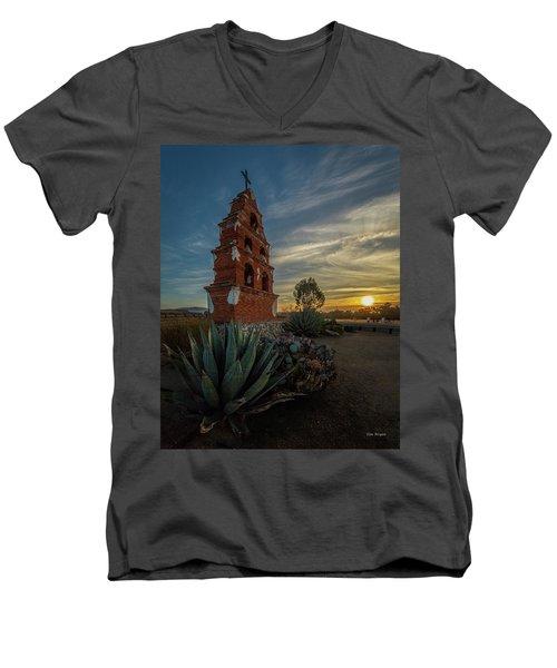 Sunrise At San Miguel Men's V-Neck T-Shirt