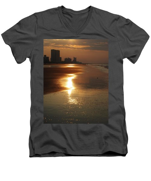 Sunrise At The Beach Men's V-Neck T-Shirt