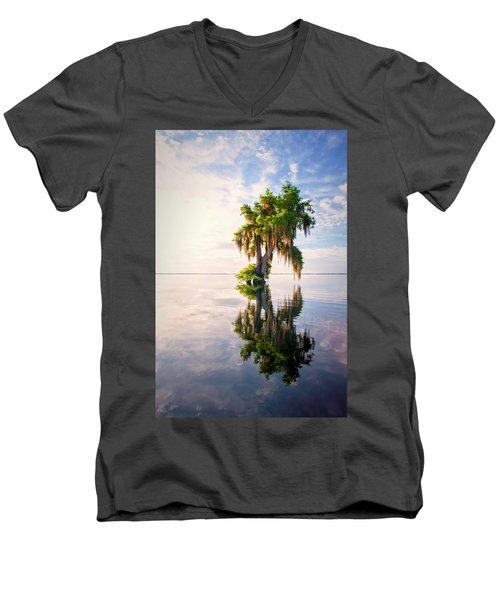 Sunrise Dip #2 Men's V-Neck T-Shirt