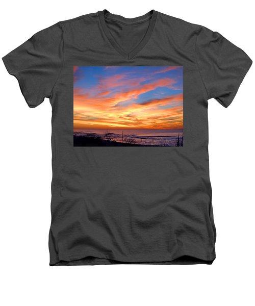 Sunrise Dune I I I Men's V-Neck T-Shirt