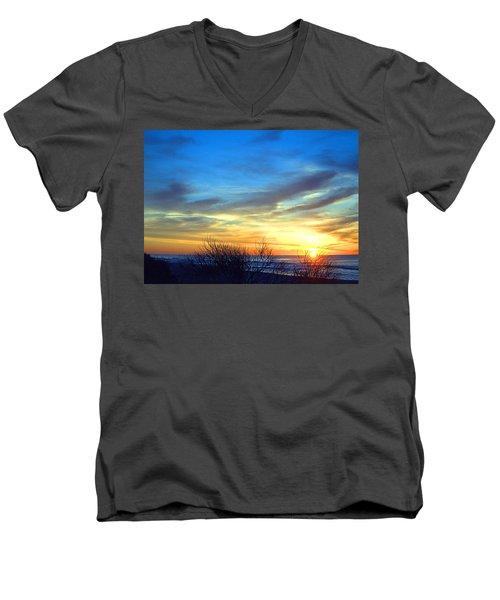 Sunrise Dune I I Men's V-Neck T-Shirt