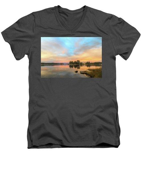 Sunrise, From The West Men's V-Neck T-Shirt