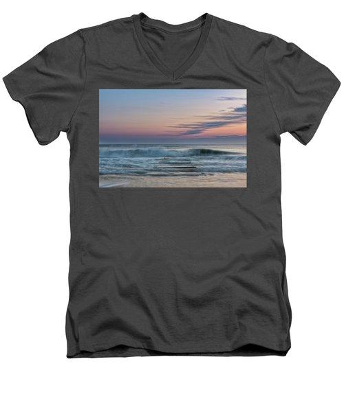 Sunrise Hunter Men's V-Neck T-Shirt