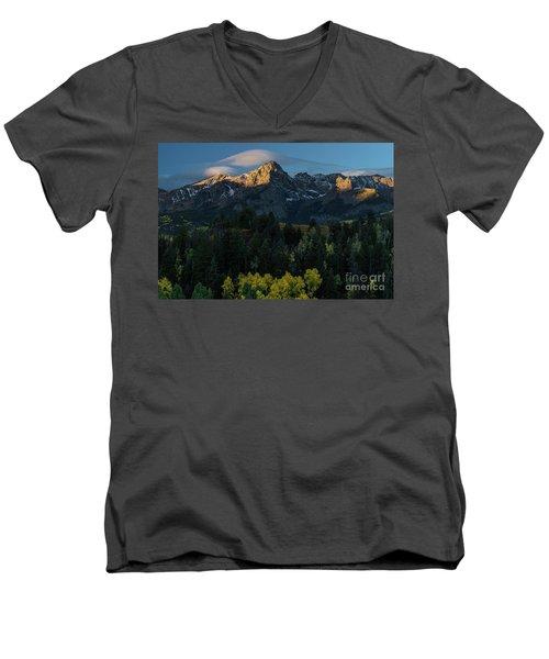 Sunrise In Colorado - 8689 Men's V-Neck T-Shirt