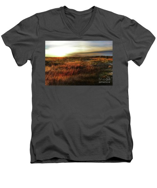 Sunrise Mexico Beach Men's V-Neck T-Shirt
