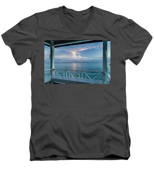 Sunrise, Ocho Rios, Jamaica Men's V-Neck T-Shirt