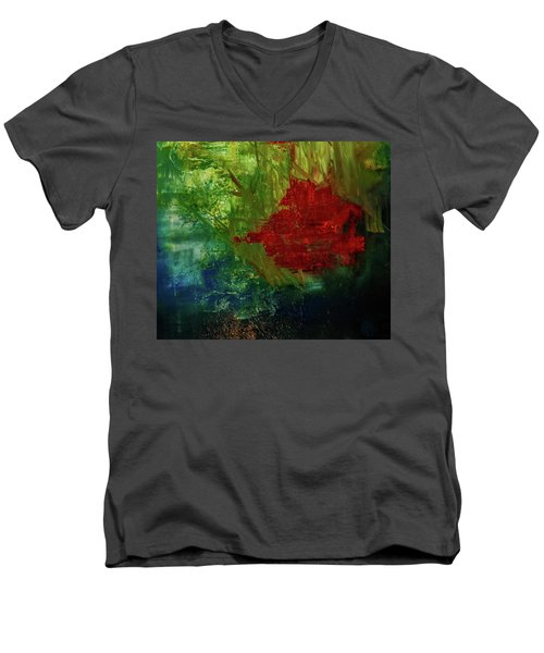 Sunrise On The Marsh Men's V-Neck T-Shirt
