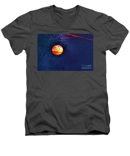 Sunrise Paint Men's V-Neck T-Shirt