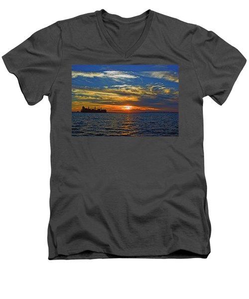 Sunrise Sail Men's V-Neck T-Shirt