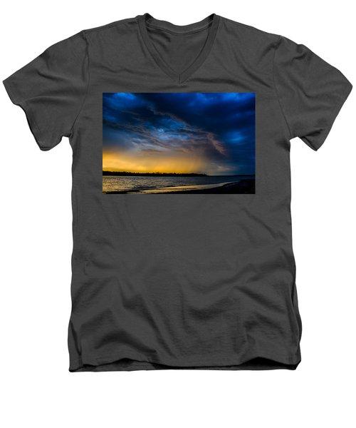 Sunrise Storm Men's V-Neck T-Shirt