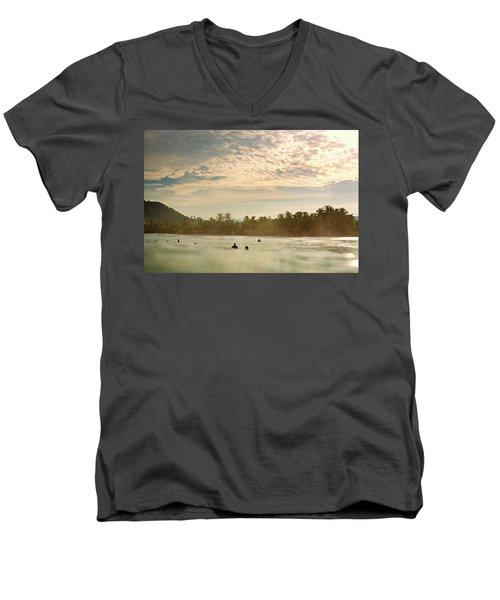 Sunrise Surfers Men's V-Neck T-Shirt