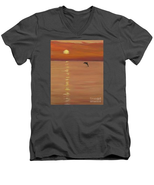 Sunrise Surprise Men's V-Neck T-Shirt