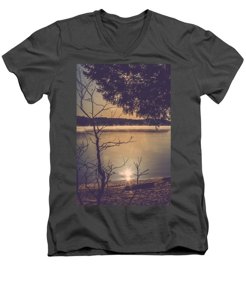 Suns Reflection Men's V-Neck T-Shirt
