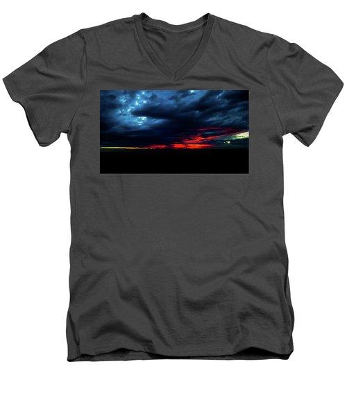 Sunset #10 Men's V-Neck T-Shirt
