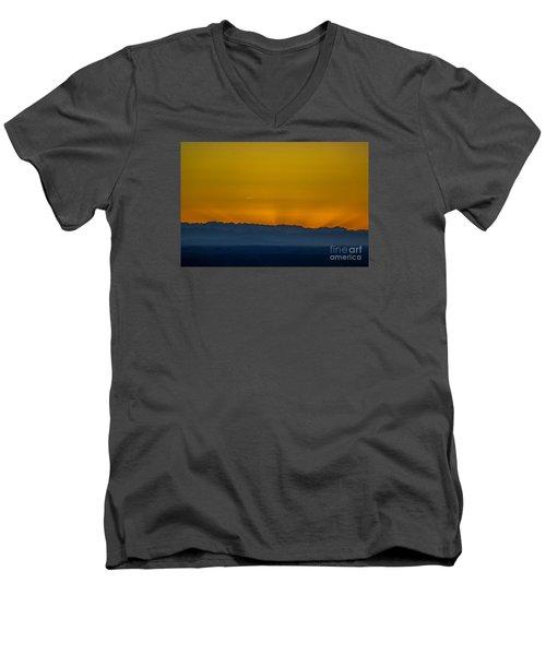 Sunset 3 Men's V-Neck T-Shirt