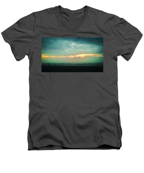 Sunset #4 Men's V-Neck T-Shirt