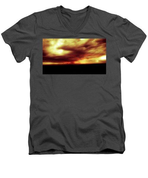 Sunset #6 Men's V-Neck T-Shirt