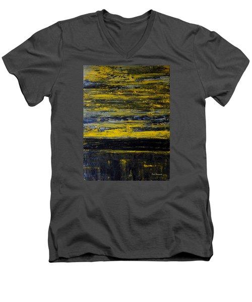 Sunset Abstract Men's V-Neck T-Shirt