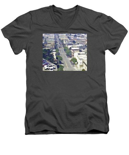 Sunset Days Men's V-Neck T-Shirt