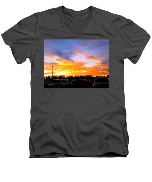 Sunset Forecast Men's V-Neck T-Shirt