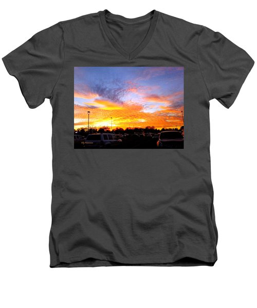 Sunset Forecast Men's V-Neck T-Shirt