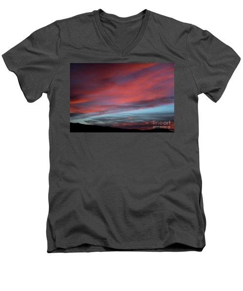 Sunset In Capital Reef  Men's V-Neck T-Shirt