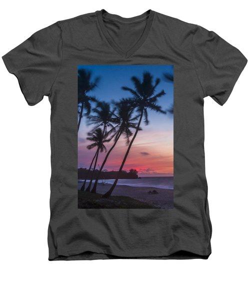 Sunset In Paradise Men's V-Neck T-Shirt