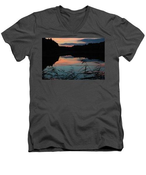 Sunset In September Men's V-Neck T-Shirt