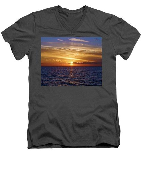 Sunset In Sw Florida Men's V-Neck T-Shirt