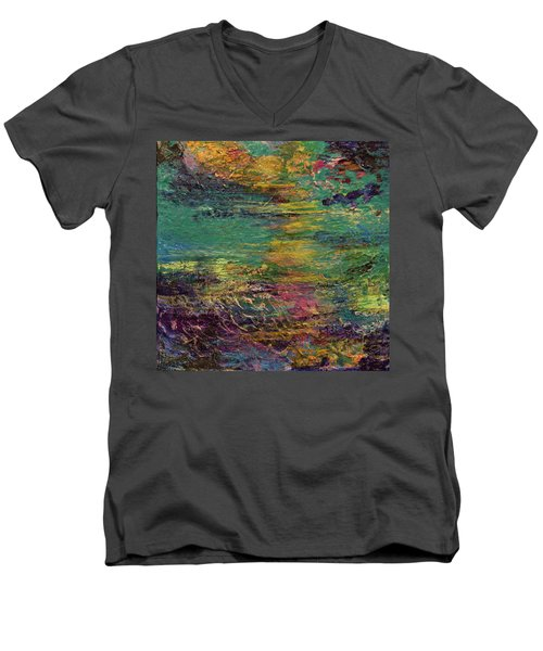 Sunset Magic Men's V-Neck T-Shirt