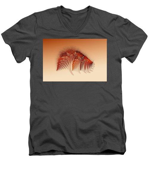 Sunset On Yessland Men's V-Neck T-Shirt