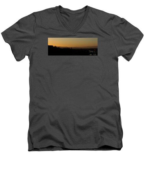 Sunset Over Florence Men's V-Neck T-Shirt