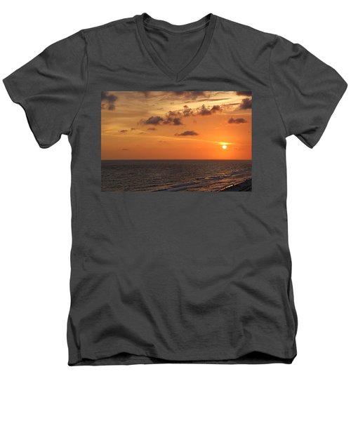 Sunset Panama City Florida Men's V-Neck T-Shirt