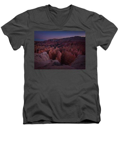 Sunset Point Men's V-Neck T-Shirt
