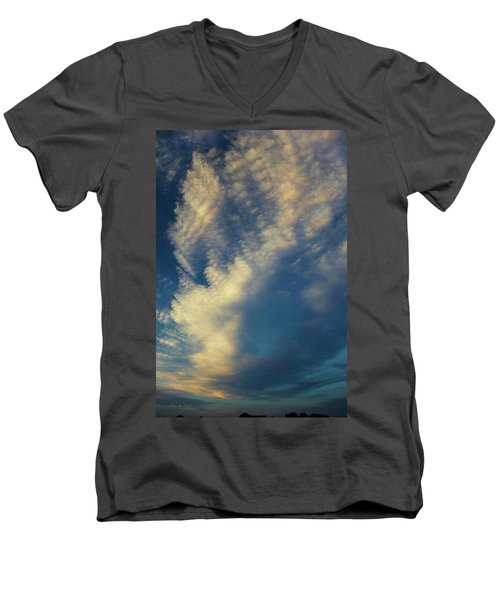 Sunset Stack Men's V-Neck T-Shirt