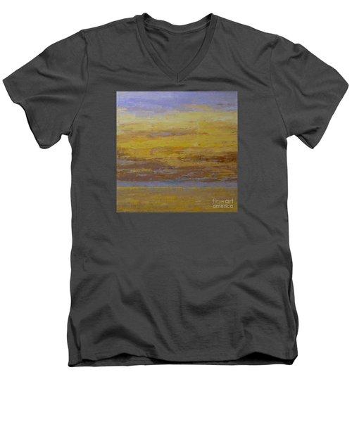 Sunset Storm Clouds Men's V-Neck T-Shirt by Gail Kent