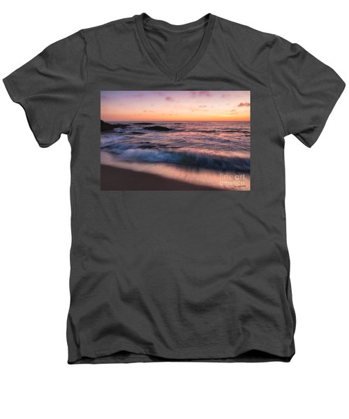 Sunset Surf Men's V-Neck T-Shirt