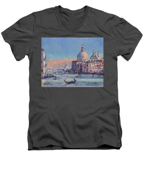 Sunset Venice Men's V-Neck T-Shirt