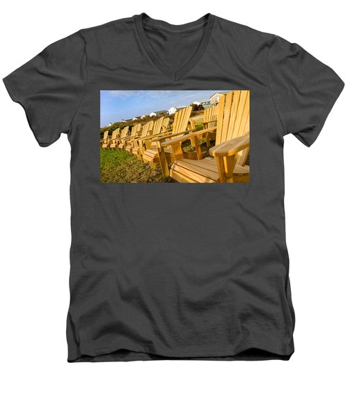 Sunset Watch Men's V-Neck T-Shirt
