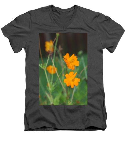 Sunshine To The Mind Men's V-Neck T-Shirt by Vadim Levin