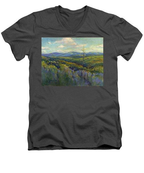 Super Bloom 4 Men's V-Neck T-Shirt