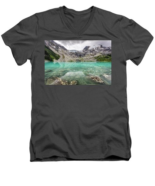Men's V-Neck T-Shirt featuring the photograph Super Natural British Columbia by Pierre Leclerc Photography