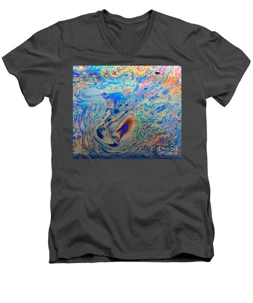 Superheated Rainbows  Men's V-Neck T-Shirt