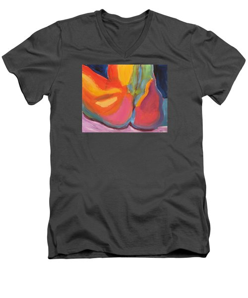 Supple Buttocks Men's V-Neck T-Shirt