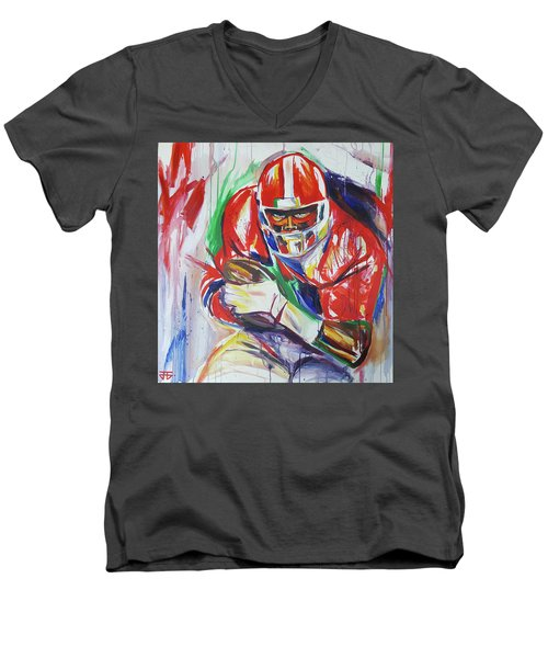 Sure To Score Men's V-Neck T-Shirt