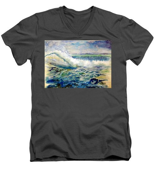 Surf 2 Men's V-Neck T-Shirt